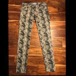 CAbi Snakeskin Jeans